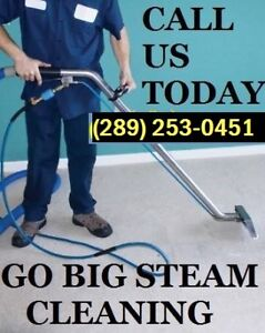 GO BIG CARPET CLEANING YOUR UPHOLSTERY AND CARPET EXPERTS