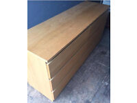 Large 6 Drawer Chest.