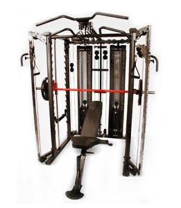 Inspire SCS Smith Cage System Functional trainer Pull up