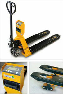 HAND PALLET, PALLET JACK WITH SCALE, PRINTER, PUMP TRUCK,