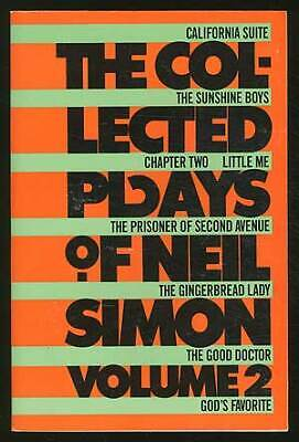 The Collected Plays of Neil Simon Volume II / 1986 ()