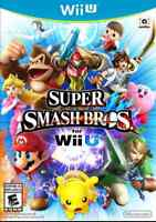 SUPER SMASH BROTHERS WII U AND MARIO PARTY 9