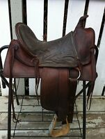 "Kids 13"" Western Saddle"