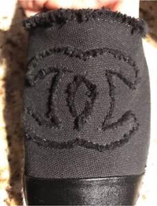 Authentic Chanel espadrilles  size 42 retails  for 895$