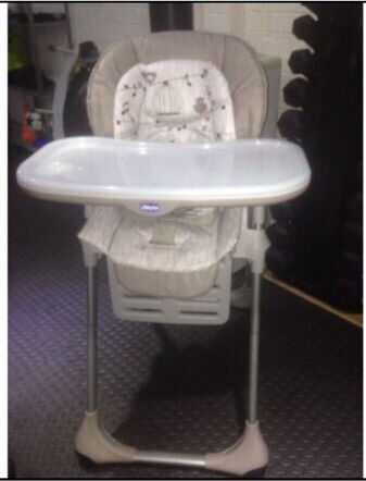 Chicco Polly High Chair Excellent Nearly New Condition