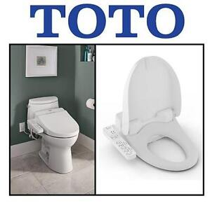 USED TOTO ELECTRIC BIDET SEAT - 122609604 - WASHLET FOR ROUND TOILETS