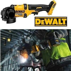 NEW DEWALT ANGLE GRINDER W/KB BRAKE DCG414B 202564460 FLEXVOLT TOOL 60-Volt MAX Cordless Brushless 4-1/2 in. to 6 in....