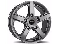 "18"" Gunmetal Fox Viper Van wheels & tyres for Renault Traffic, Vauxhall Vivaro,"