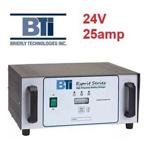 NEW BTI 24V 2AMP BATTERY CHARGER 350.24250406 236453593 SMART  HIGH FREQUENCY ESPIRIT SERIES