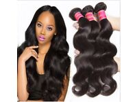 ♥CHEAPEST 100% HUMAN VIRGIN REMY HAIR IN LONDON - BRAZILIAN/PERUVIAN/MALAYSIAN - SAME DAY DELIVERY♥