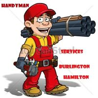Handyman Services in Hamilton/Burlington/Waterdown