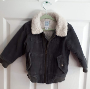 Toddler Boy Warm Fall Jacket - size 18 to 24 months