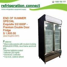 End of Summer Special - Upright Premium Double Doors Fridge 1000L Sydney City Inner Sydney Preview