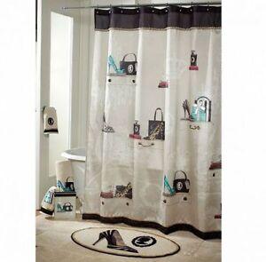 New shower curtains Avanti Fabulous - never opened