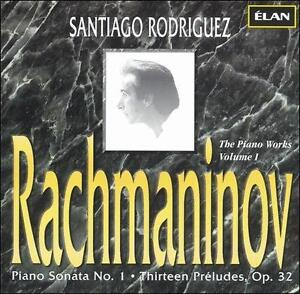 Piano-Sonata-No-1-13-Preludes-Rodriguez-european-Import-CD-1996