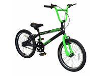 20 inch bmx zinc bicycle rrp 100