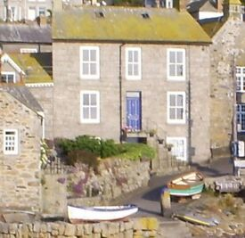 Harbourside house in Mousehole Cornwall. Stunning views. Three bedrooms