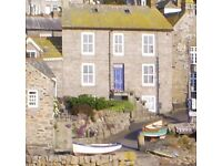 Mousehole Cornwall. Lovely Harbourside house available for Christmas and New Year