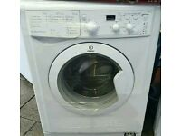 Indesit washing machine comes with warranty can be delivered