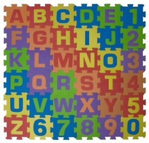 Alphabet And Numbers Playmats (used, good condition) - $10