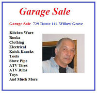 Garage Sale all sorts of items Rain or Shine