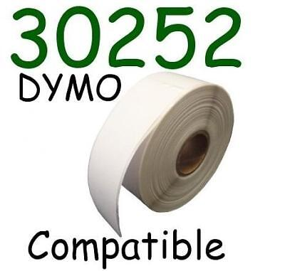 3 Rolls 1050 Labels Dymo 30252 Compatible 1 18 X 3 12 Address Labels