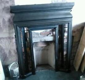 Cast fireplace full size Now £60