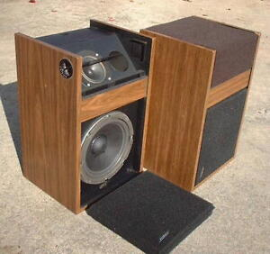 VINTAGE BOSE TWO WAY SPEAKERS IN GREAT WORKING CONDITION.