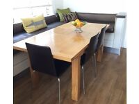 Light Oak kitchen / dining table