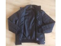 Men/women's Fashion Designer Black quilted Italian type style jacket - Made in Italy label - new