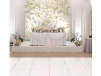 Flower wall decor package