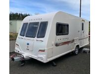 2012 Bailey Unicorn Seville 2/berth,Motor mover and full Awning