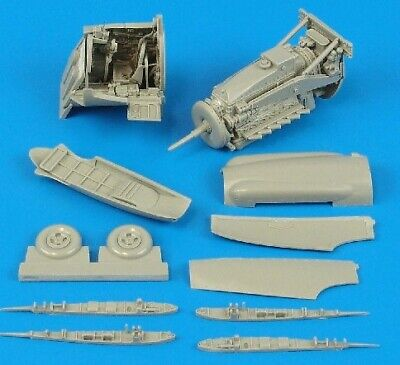Aires Hobby 4338 1:48 Seafire FR46/FR47 Detail Set For ARX D