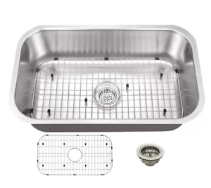 Soleil 30-inch x 18-inch Stainless Undermount Kitchen Sink