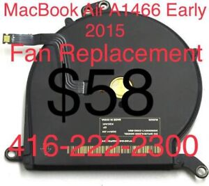 Apple MacBook Air A1466 Fan Replacement