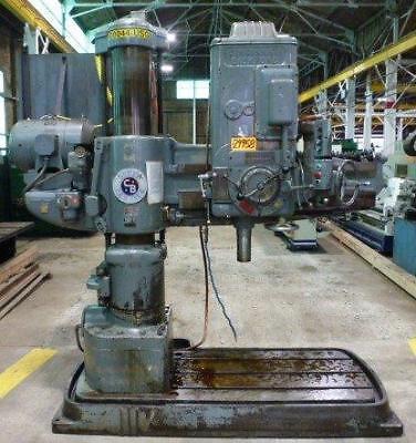 Cincinnati Bickford 2e Super Service 4 X 11 Radial Drill B36798