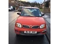 Nissan micra s 51 plate 53,000 miles very reliable