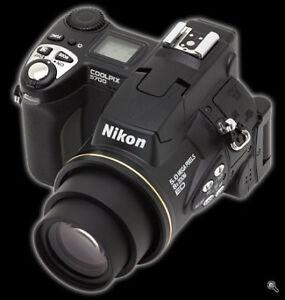 Nikon Coolpix 5700 Digital Camera 5.0 Mega Pixels 8x Zoom