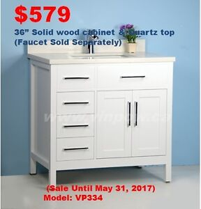 Bathroom Vanities & Faucets, May Sale/Almost All Gone