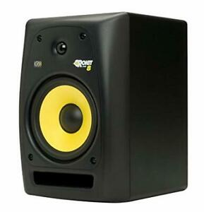 Pair of KRK rokkit 8 with prime acoustic recoil pads