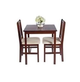 Homebase - Kendal - Dining Table & 2 Chairs