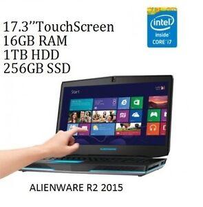 ALIENWARE R2 17 TouchScreen IPS i7 3.5ghz 16GB 256GB, 1TB GTX980