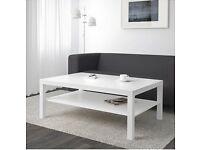 IKEA Coffee Table White (Shelf for magazine, bookcase, bookshelves)