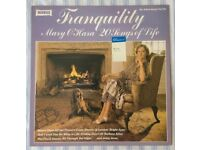 "Mary O'Hara 'Tranquility (20 Songs Of Life)' 12"" VINYL LP 33⅓ RPM, £5 ONO"