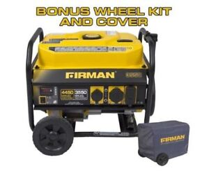 Firman P03501 Gas-Powered 4,450 Watt Portable Generator
