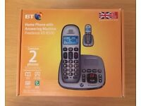 BT Home Phone with Answering Machine Twin Set Freelance XD 8500