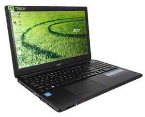 Notebook Computer - ACER E1 15.6 Inch Touch W8.1HP HDMI