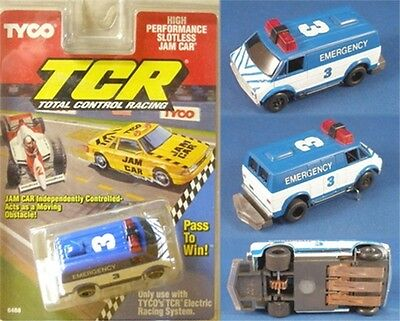 1991 TYCO TCR Race Track Chevy VAN HO Slot less JAM Carded Total Control Racing! for sale  Syracuse