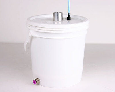 Powder Coating 2lb Constant Fluidizing Hopper Kit For Wagner Gema Spectracoat