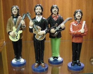 Beatles LET IT BE Figures SET only 500 made Figural Dolls Almost Sold Out